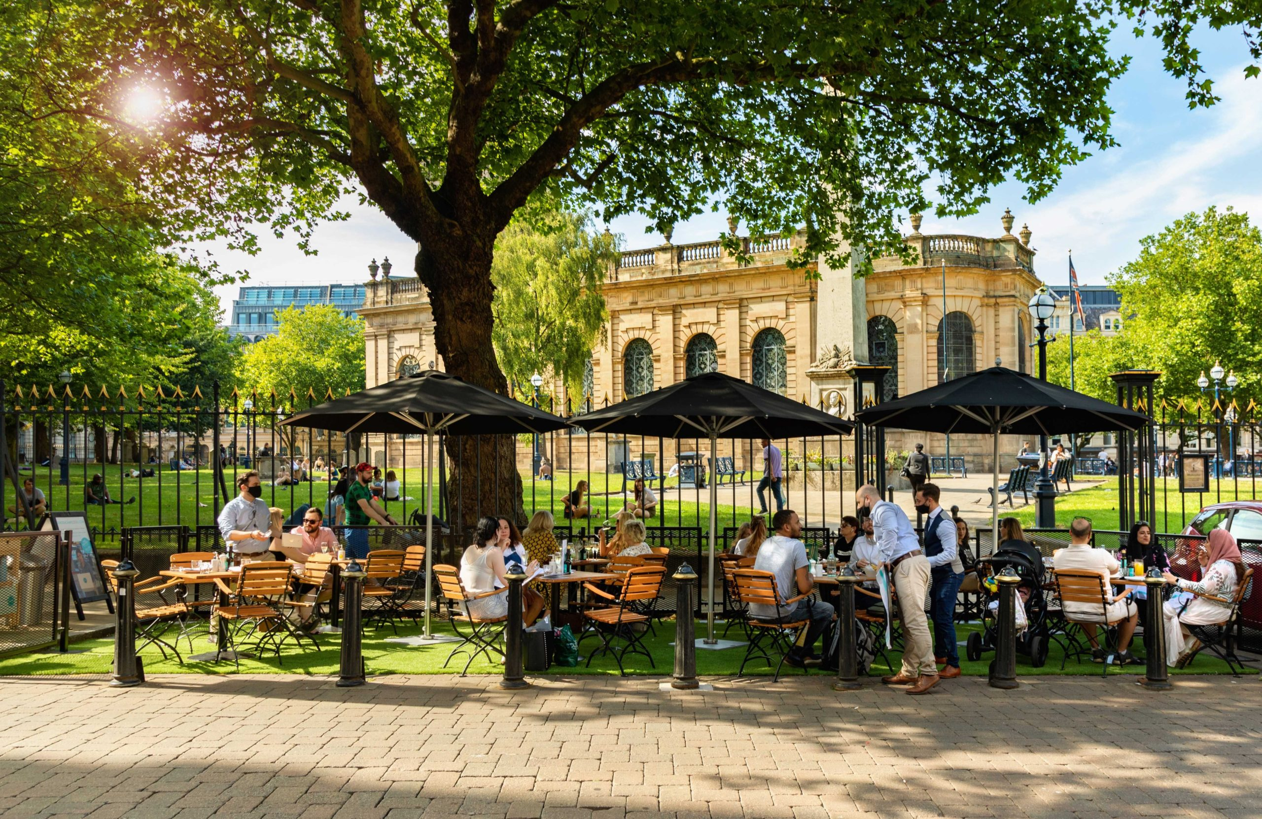 Birmingham's Best Alfresco Dining and Drinking Hot Spots