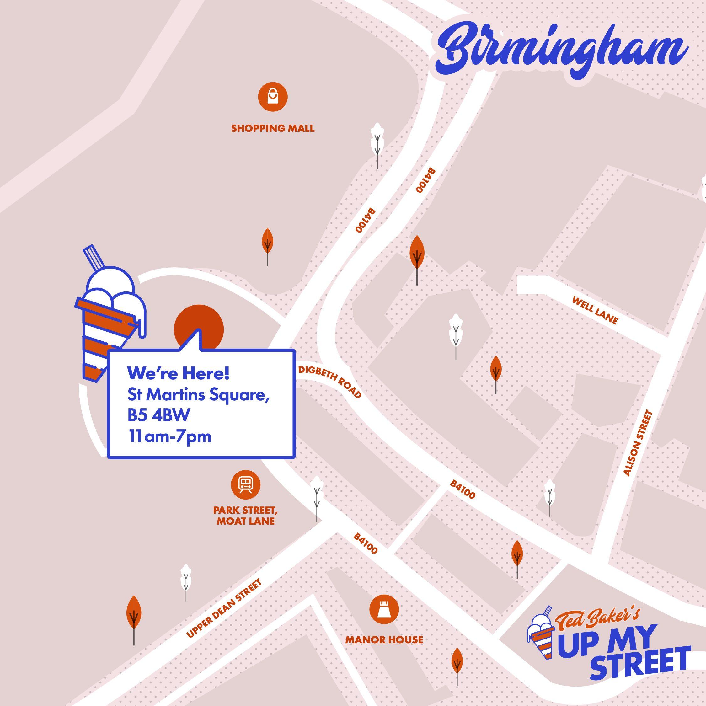 Fancy Free Ice Cream In Birmingham Tomorrow?